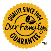 Our Family Guarantee Seal